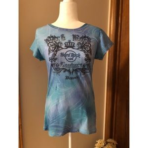 Hard Rock Cafe Couture Denver Short Sleeve T-Shirt